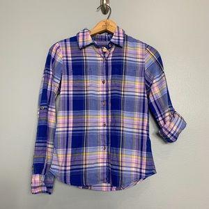 THE NORTH FACE | Plaid Button Up Shirt Sz XS